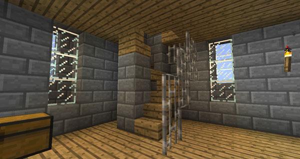 Minecraft Spiral Tower Staircase : Winterspyre a minecraft creation